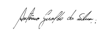 Fundo preto com letras brancas Descrição gerada automaticamente